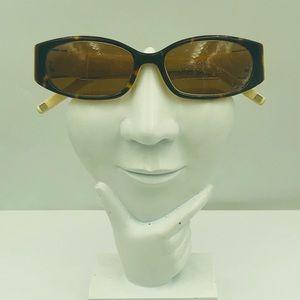 Anne Klein AKNY3129 Tortoise Oval Sunglasses Frame